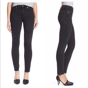 MADEWELL | Black High Riser Skinny Jeans Sz. 32